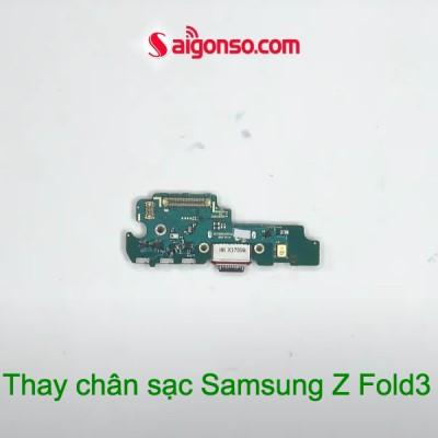 Thay chân sạc Samsung Z Fold3