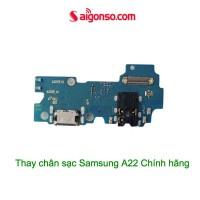 Thay chân sạc Samsung A22