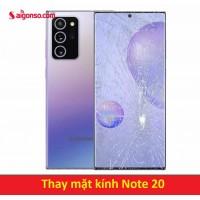 Thay mặt kính Galaxy Note 20