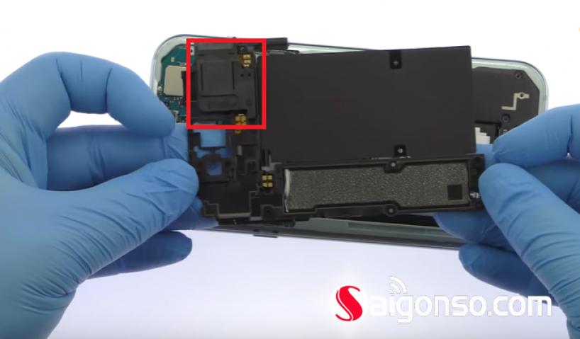 Hướng dẫn thay Loa Samsung A7 2017