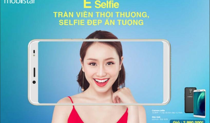 Mobiistar E-selfie điện thoại chuyên selfie ra mắt với giá chưa đến 3 triệu