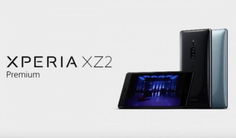 Sony Xperia XZ2 Premium ra mắt với vẻ đẳng cấp khó cưỡng lại