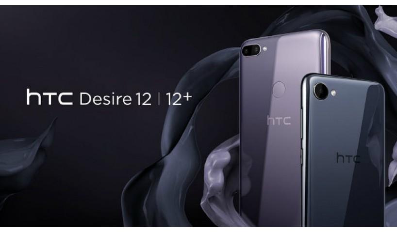 Bóng bẩy, sang chảnh với bộ đôi HTC Desire 12 và 12 Plus