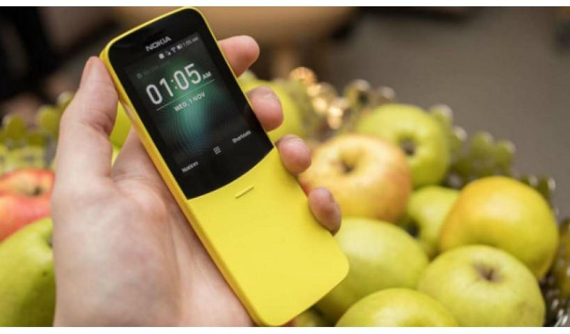 Lạ mắt với màu vàng rực của chiếc điện thoại Nokia 8810 2018
