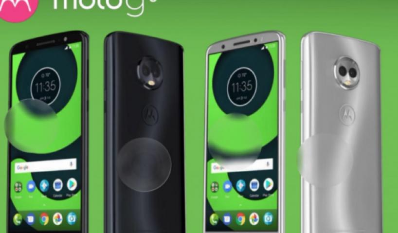 Nhà điện thoại giá rẻ của Motorola có thêm thành viên mới Moto G6