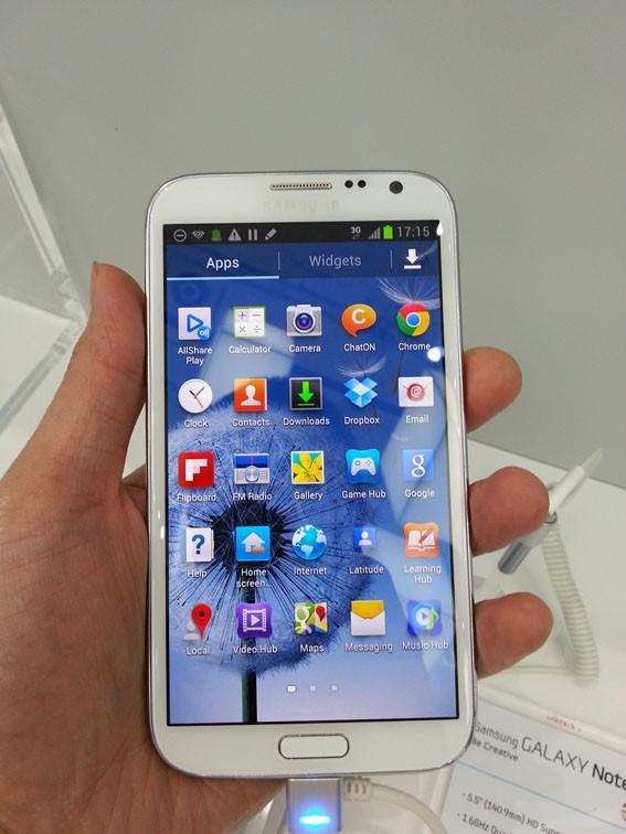 Samsung Galaxy Note 2 chính hãng 10