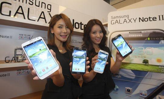 Samsung Galaxy Note 2 chính hãng 2
