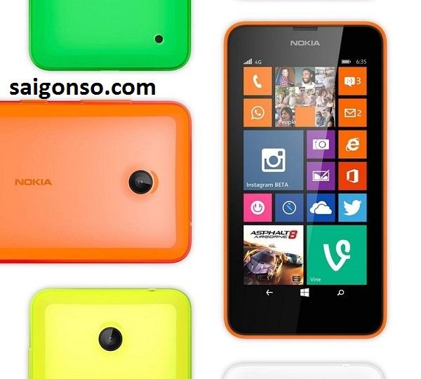 thay man hinh lumia 635