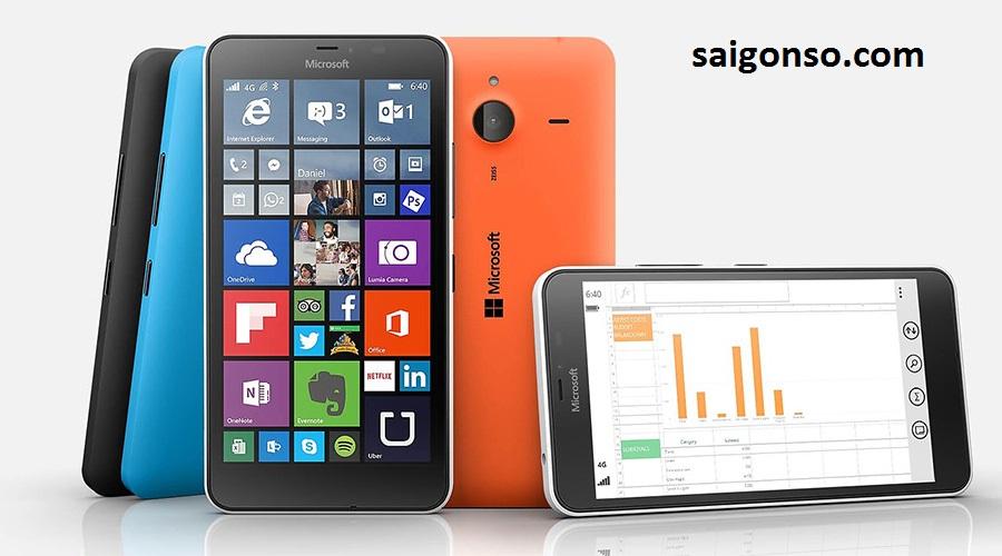 thay man hinh lumia 640 xl