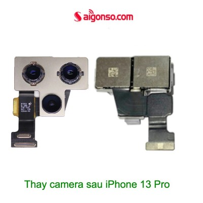 Thay camera sau iPhone 13 Pro Max