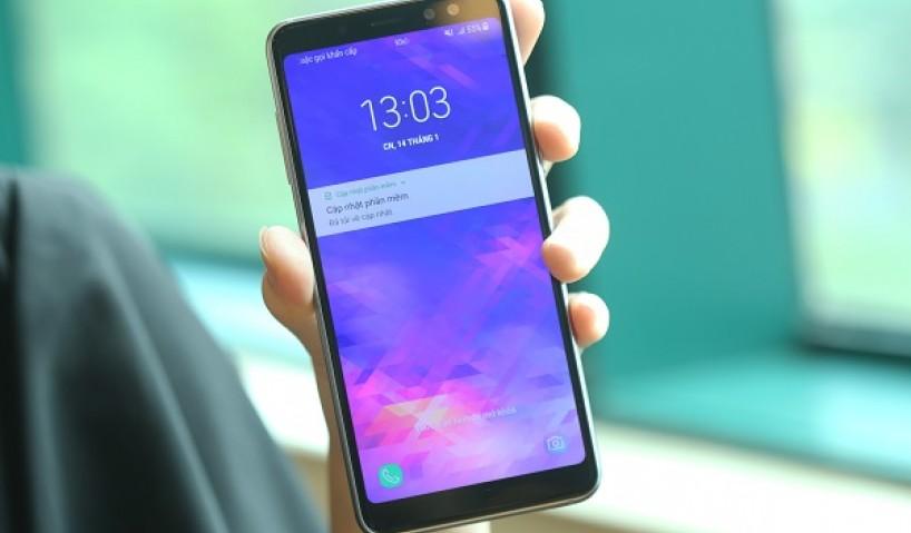 Bất ngờ với camera selfie của Samsung Galaxy A8