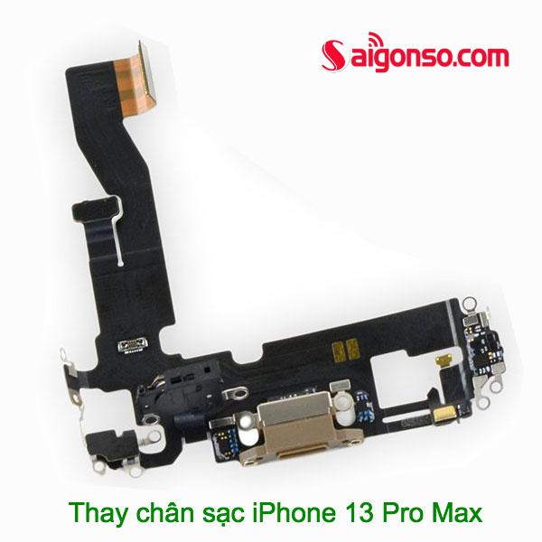 thay chân sạc iPhone 13 Pro Max